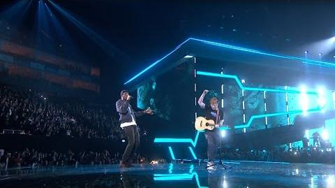 Ed Sheeran – Castle On The Hill & Shape Of You feat. Stormzy Live from the Brit Awards 2017