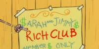 Sarah and Jimmy's Rich Club