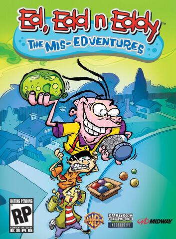 File:The Mis Edventures box art.jpg