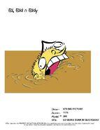Ed Being Sunk In Quicksand