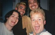 Danny, Matt, Sam and Tony