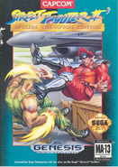 Street fighter 2 usa box
