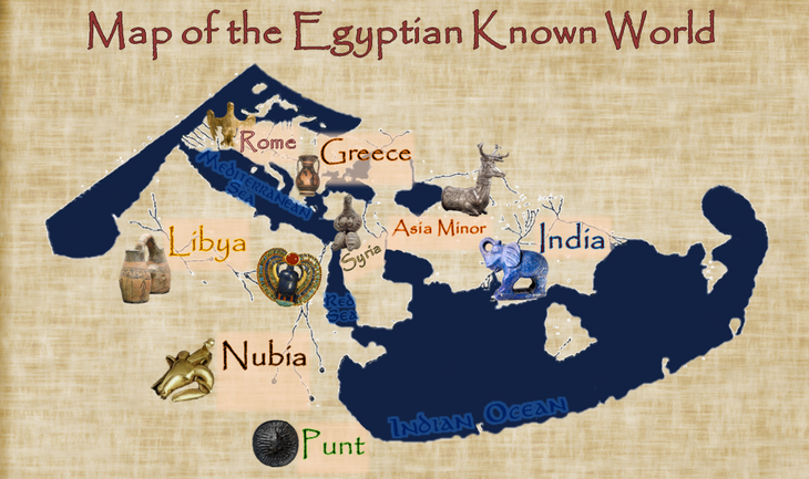 Egypt World Map