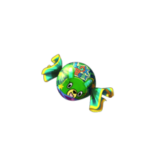 9007 Green Bear Candy