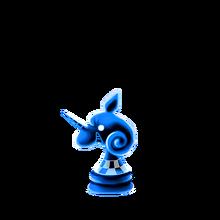 0155 Blue Chess Piece