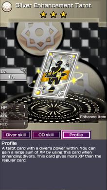 0209 Silver Enhancement Tarot