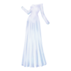 Clothing Snow Lady Gown