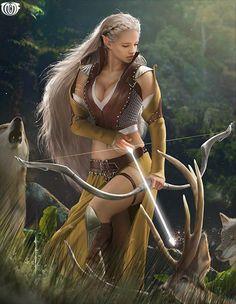 File:Elf Archer Aeathel.jpg