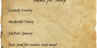 Meat for Soup