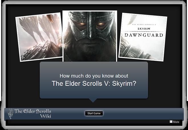 Elder Scrolls V Skyrim Darkguard Quiz Blog Banner