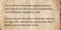Baron Sorick's Orders
