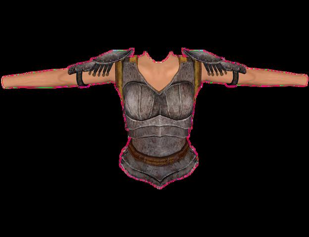 File:Iron Cuirass (Oblivion) Female.png