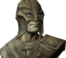 Bust of the Gray Fox