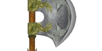 Durable Elven War Axe