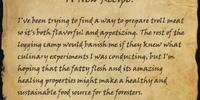 A New Recipe?