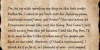 Letter to Zurga gra-Murtag