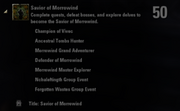 Savior of Morrowind Achievement
