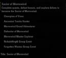 Savior of Morrowind