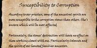 Susceptibility to Corruption