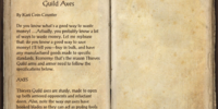 Racial Motifs 33: Thieves Guild