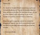 Stormreeve Neidir's Orders
