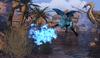 Blue Oasis Dragon Frog