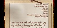 Letter Home (Oblivion)