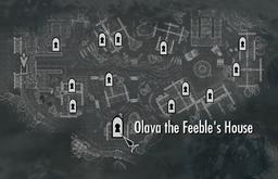 Olava's House Map