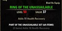 Unassailable