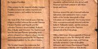 War of the First Council (Book)