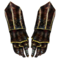 Ebony Gauntlets (Oblivion) Female