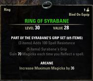 Syrabanes Grip - Ring 30