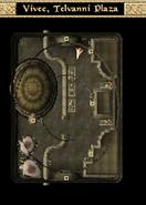 Vivec, Telvanni Plaza Interior Map Morrowind