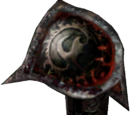 Daedric Right Pauldron (Morrowind)