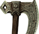 Lunar Iron War Axe