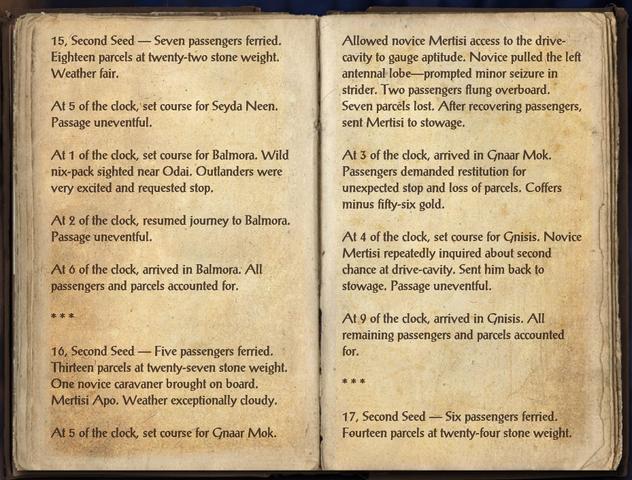 File:Silt Strider Caravaner's Log - Page 1.png