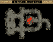 Kogoruhn, Bleeding Heart - Interior Map - Morrowind