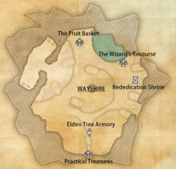 Elden Tree Ground legend map (online)
