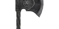 Steel War Axe (Oblivion)