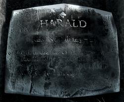Harald's Plaque