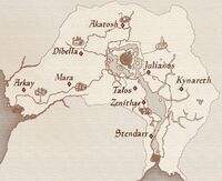Wayshrines Map