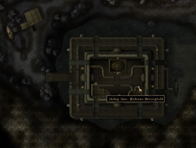File:TES3 Morrowind - Molag Mar - Redoran Stronghold location map.jpg