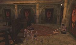 Firemoth Upper Chamber Barricades