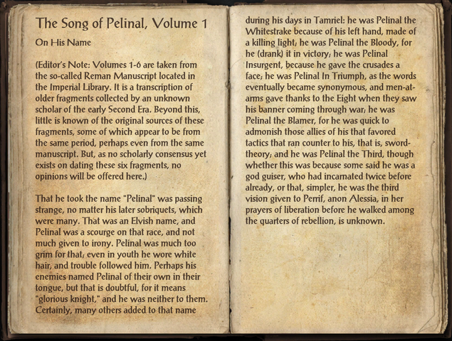 File:The Song of Pelinal, Volume 1.png