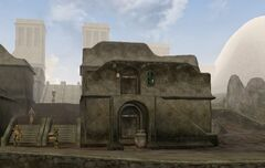 TES3 Morrowind - Balmora - Fast Eddie's House and Itan's House exterior.jpg