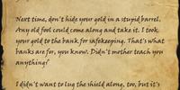 Letter to Geldrion