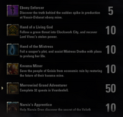 Morrowind Quest Achievements - 1