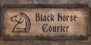 TESIV Sign BlackHorseCourier