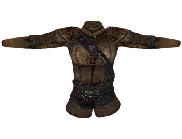 File:Leather Cuirass (Oblivion) Female.png