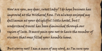 Letter to the Withered Rose